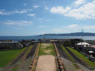 五色塚古墳からの風景