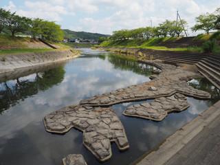東条川の日本列島