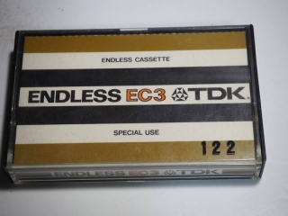 TDK・EC3・エンドレスカセットテープのケース