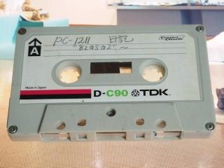 データカセットテープ