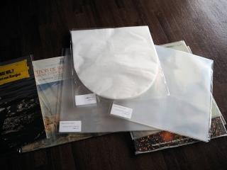 レコードの内袋・外袋(ジャケットスリーブ・保護袋