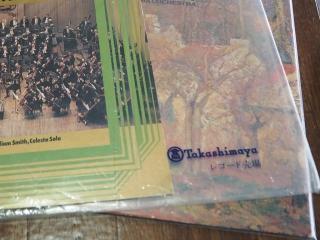 レコード外袋のロゴ「Takashimaya」